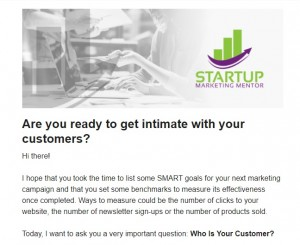 sample email nurturing sequence